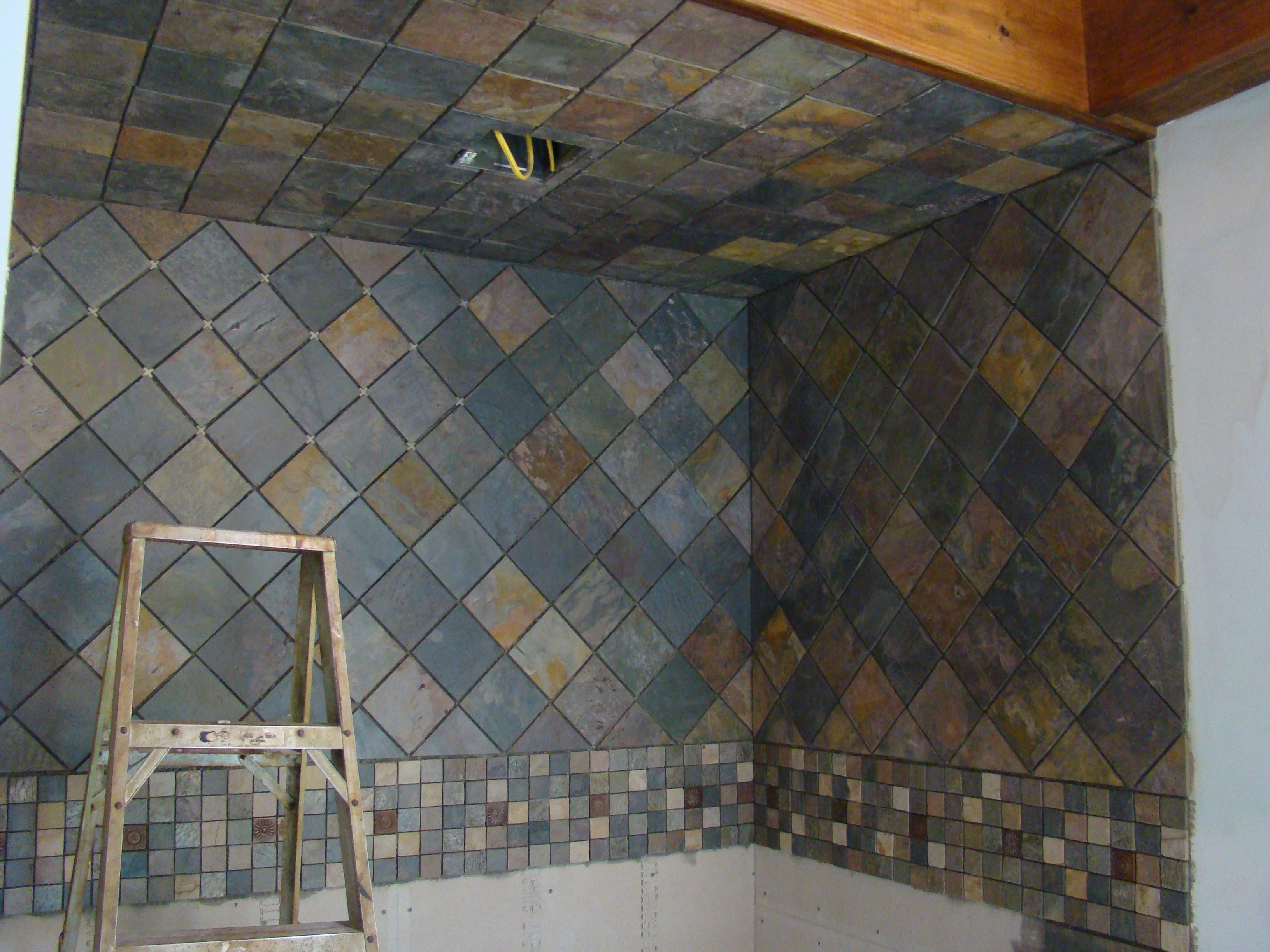 Slate Tile For Shower Walls Photo 1