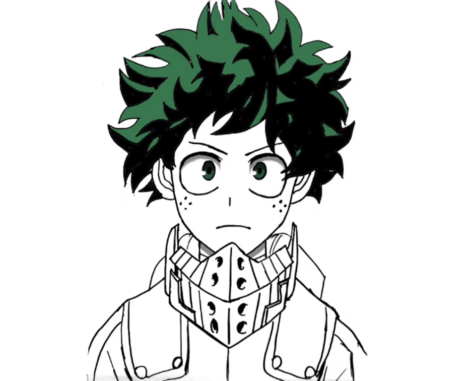 How To Draw Deku Step By Step For Beginners In This Drawing Using Only Black Sketch Very Amazing Drawing Of Deku Amaz In 2020 Amazing Drawings Drawings Easy Drawings
