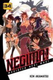 Negima!: v. 34