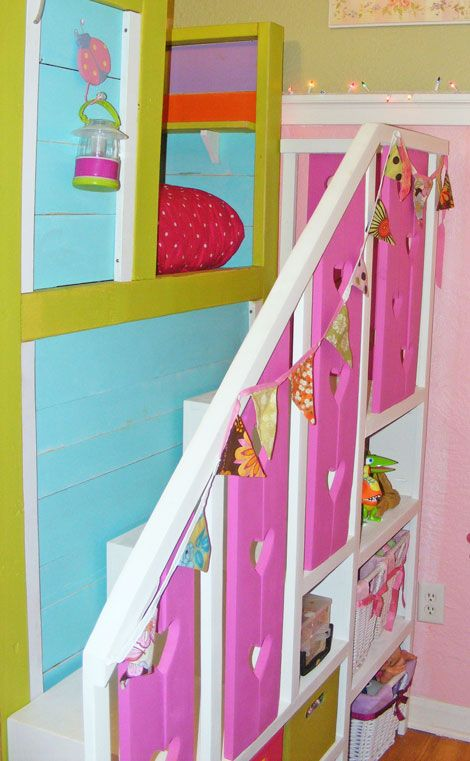 Sweet Pea Garden Bunk Bed Storage Stairs Bunk Beds Bunk