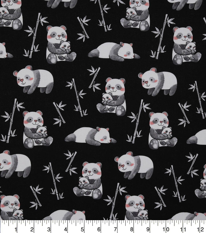 100/% Cotton Fabric Bird Print Sewing Craft Dress Children/'s Novelty Fabric