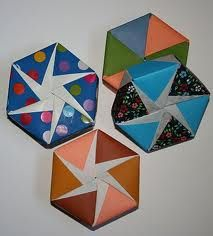 tomoko fuse´s origami hexagonal box by tomoko fuse. video instructions for  lid and base. | origami, hexagon box, origami box  pinterest