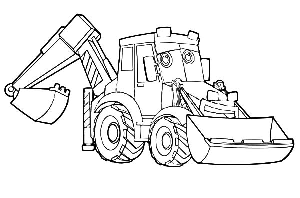 Excavator Coloring Pages Download Print Online Coloring Pages For Free Color Nimbus Coloring Pages Online Coloring Pages Lego Coloring Pages