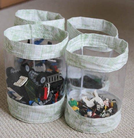 How to sew a clear toy bag - easy sewing project