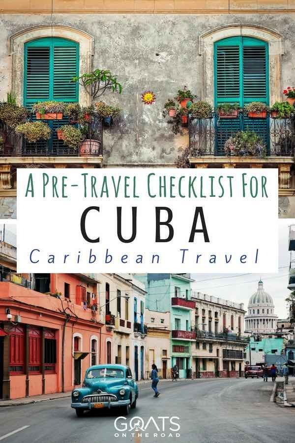 Here's everything you need to do before you head on your vacation to Cuba. A guide to the best things to do in Cuba with travel tips for planning the best cuban itinerary | #bestofcuba #cuba #cubatravel #style #shopping #styles #outfit #pretty #girl #girls #beauty #beautiful #me #cute #stylish #photooftheday #swag #dress #shoes #diy #design #fashion #Travel