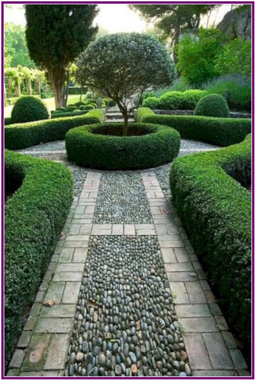 26 Garden Path Designs For Summer Style Aoneperfume Beautiful Gardens Boxwood Garden Garden Design