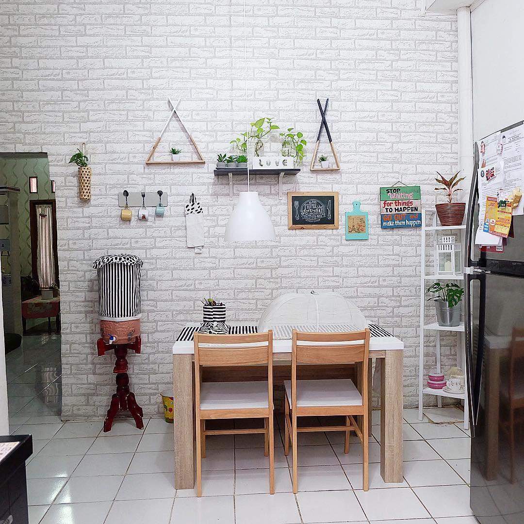 Ruang Makan Dan Dapur Jadi Satu