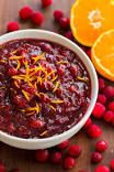 Cranberry-Orange Sauce #cranberrysauce