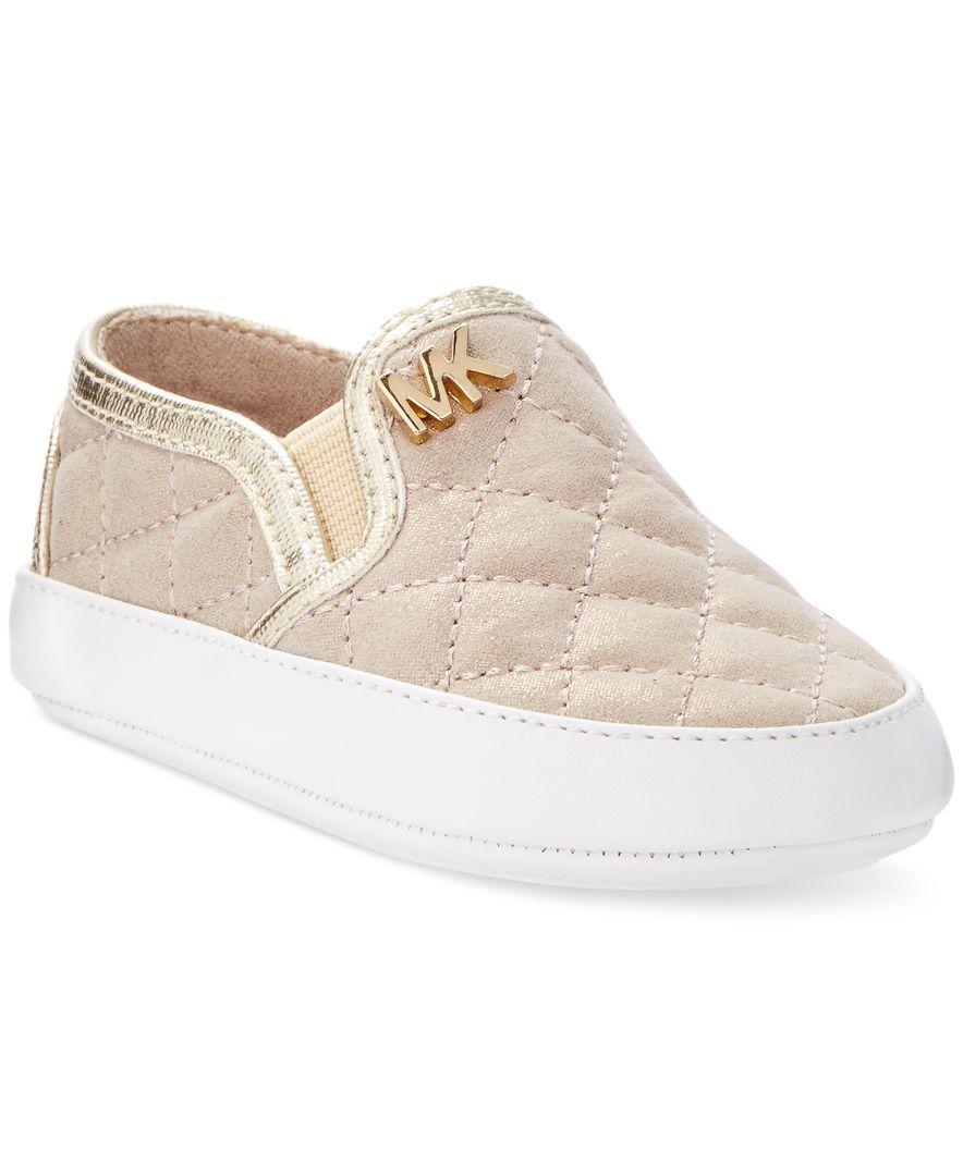175821b081 Michael Kors Baby Girls' Iris Sage Sneakers | macys.com | Baby ...