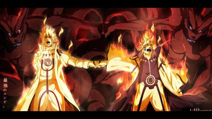 Minato Naruto Kyuubi Hd Wallpaper Iazu 19201080 Anime