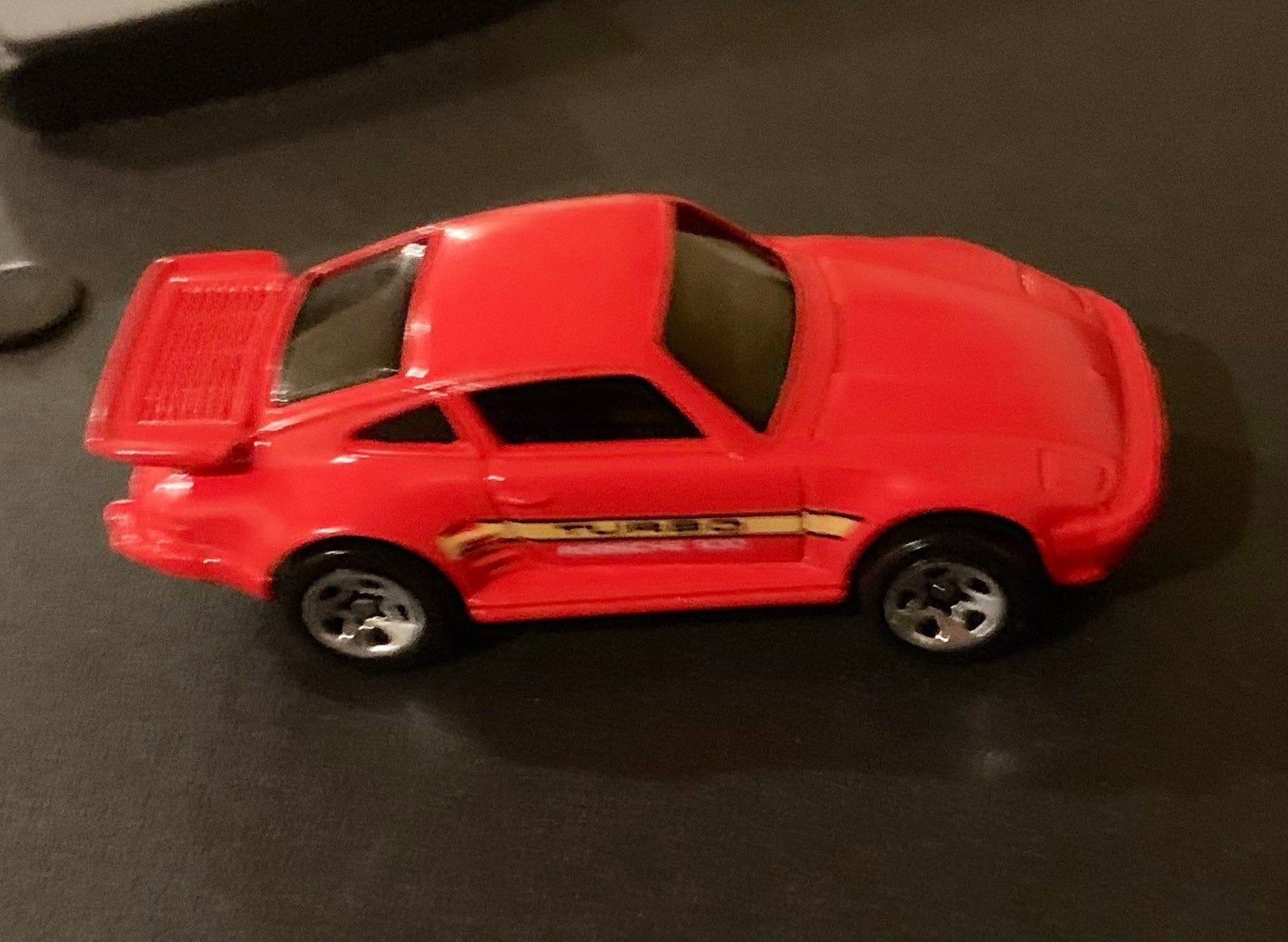 Vintage Hot Wheels Red Blackwall BW Porsche | Etsy