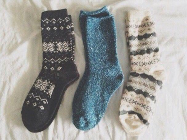 Weird Fuzzy Socks 11
