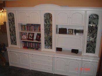 Pintar un mueble de salon oscuro pintura y salones for Modernizar salon muebles clasicos