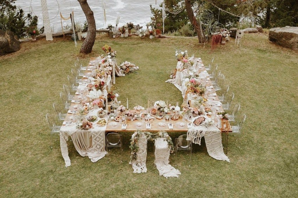 Intimate Big Sur Wedding with a Boho Floral Reception You Have to See - #a #Big #Boho #Floral #have #Intimate #Reception #See #Sur #to #Wedding #with #You