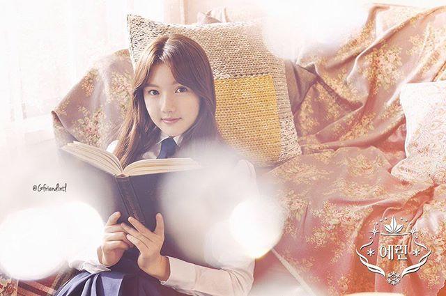 160115 Gfriend's 3rd mini album <SNOWFLAKE> concept/image teaser❄️ ;ㅡ
