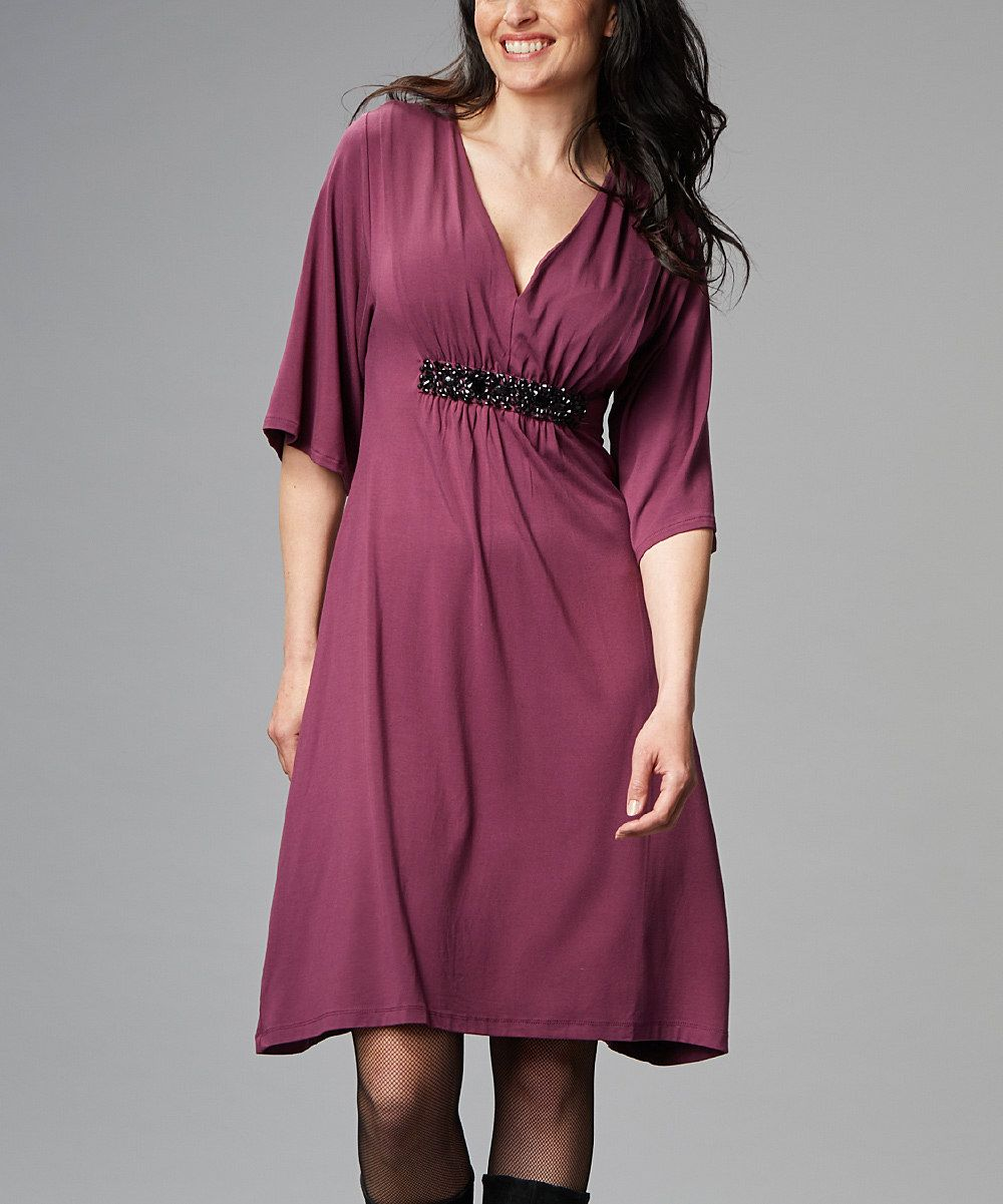 Look at this love milk fig mona maternitynursing dress on zulily look at this love milk fig mona maternitynursing dress on zulily today ombrellifo Image collections