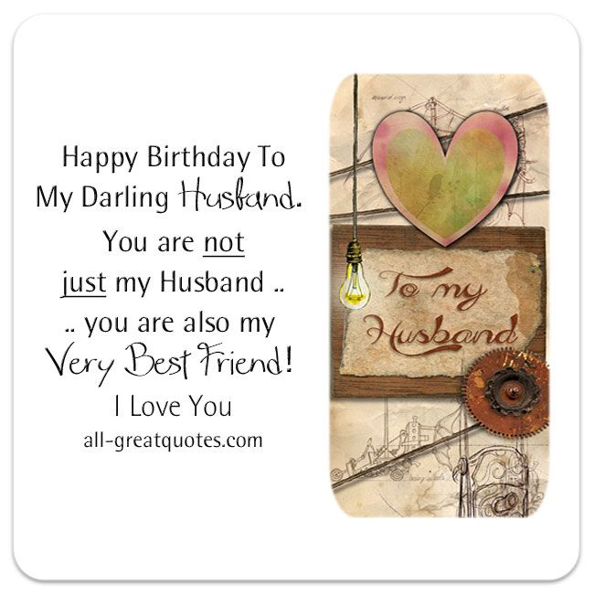 Birthday Wishes For Husband – Short Poems for Birthday Cards