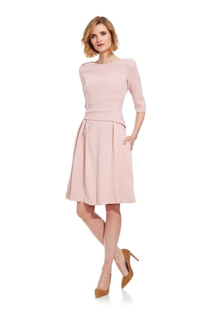 022a58fbb27dd Camelot Dress Blush Pink in 2019 | Business Professional Style ...