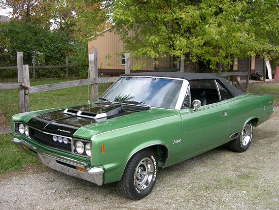 1968 Amc Rebel Sst Convertible With Only 823 Produced In