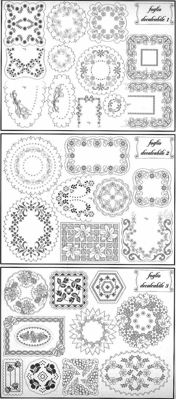 Pin de Joanna Martinez en moldes | Pinterest | Bordado, Moldes y ...