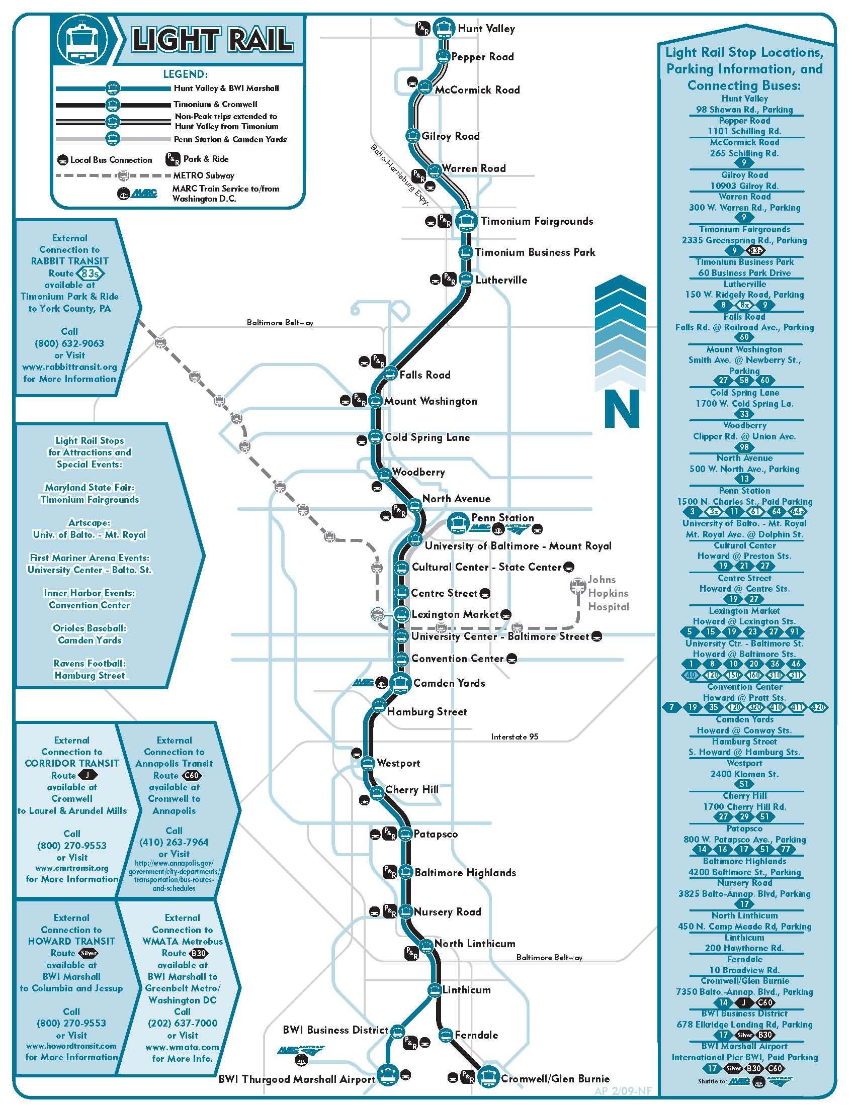 Baltimore Light Rail Map Pin by Raj B on Maryland | Baltimore map, Light rail, Baltimore