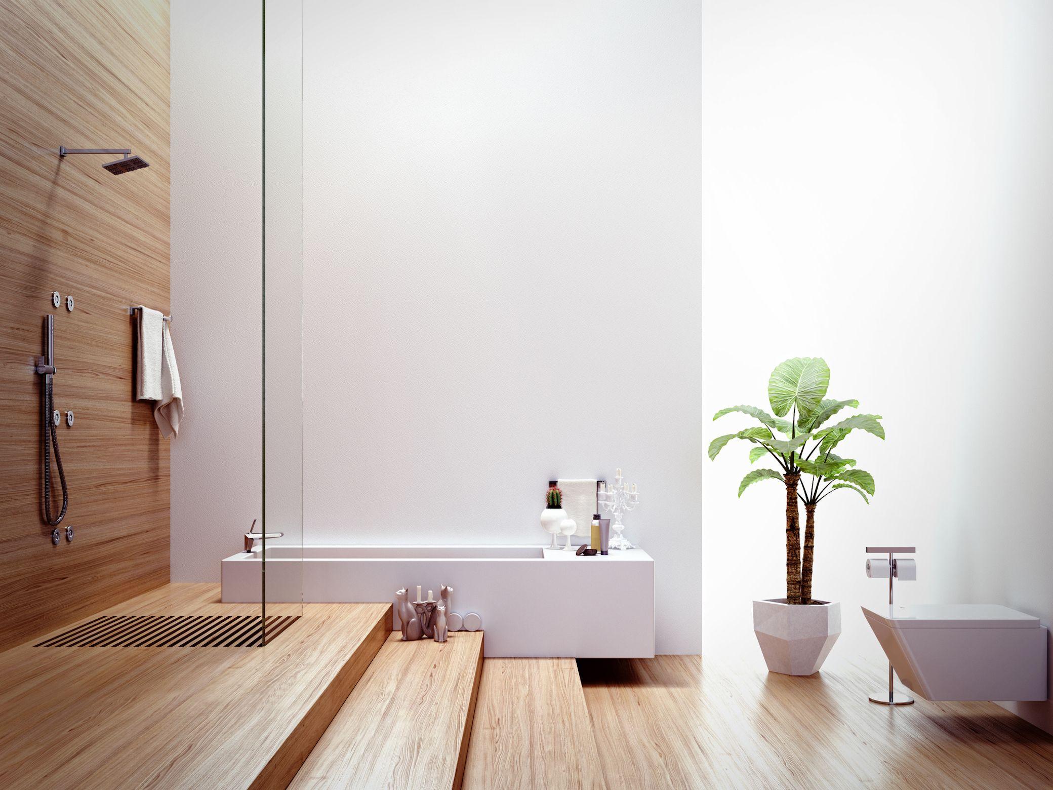 3 Alternativen Zur Fliese Im Badezimmer Top Bathroom Design Showers Without Doors Beautiful Bathroom Designs