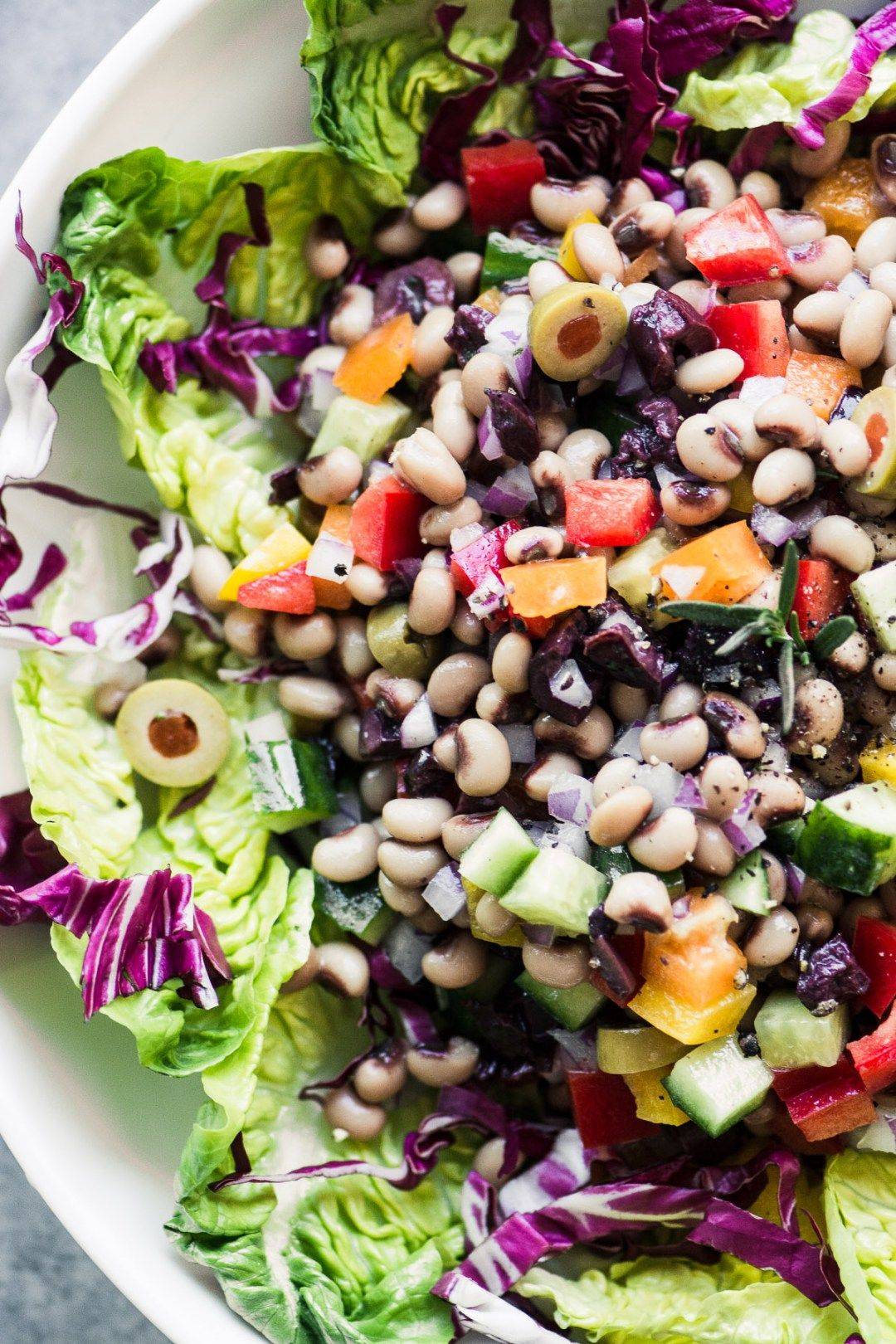 lucky blackeyed pea salad for the new year  recipe in
