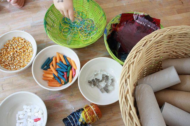 Exploring Sound (Reggio) | Kinder, Instrumente basteln und ...