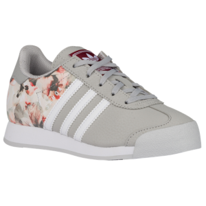adidas Originals Samoa Boys Preschool GreyWhiteBurgundy