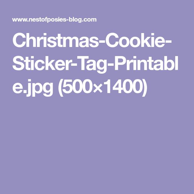 Christmas-Cookie-Sticker-Tag-Printable.jpg (500×1400)