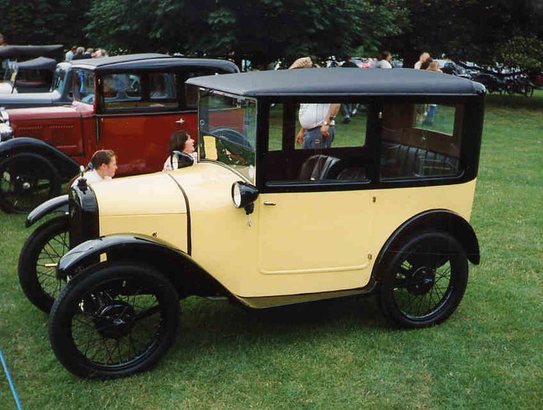 The Austin 7 produced between 19221939 served as a