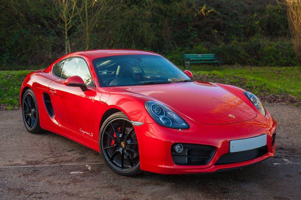 My first Porsche! 981 Cayman S in Guards Red Porsche in