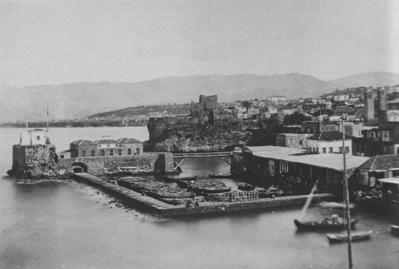 Beirut Harbour [1875] | Beirut, Lebanon, Baalbek