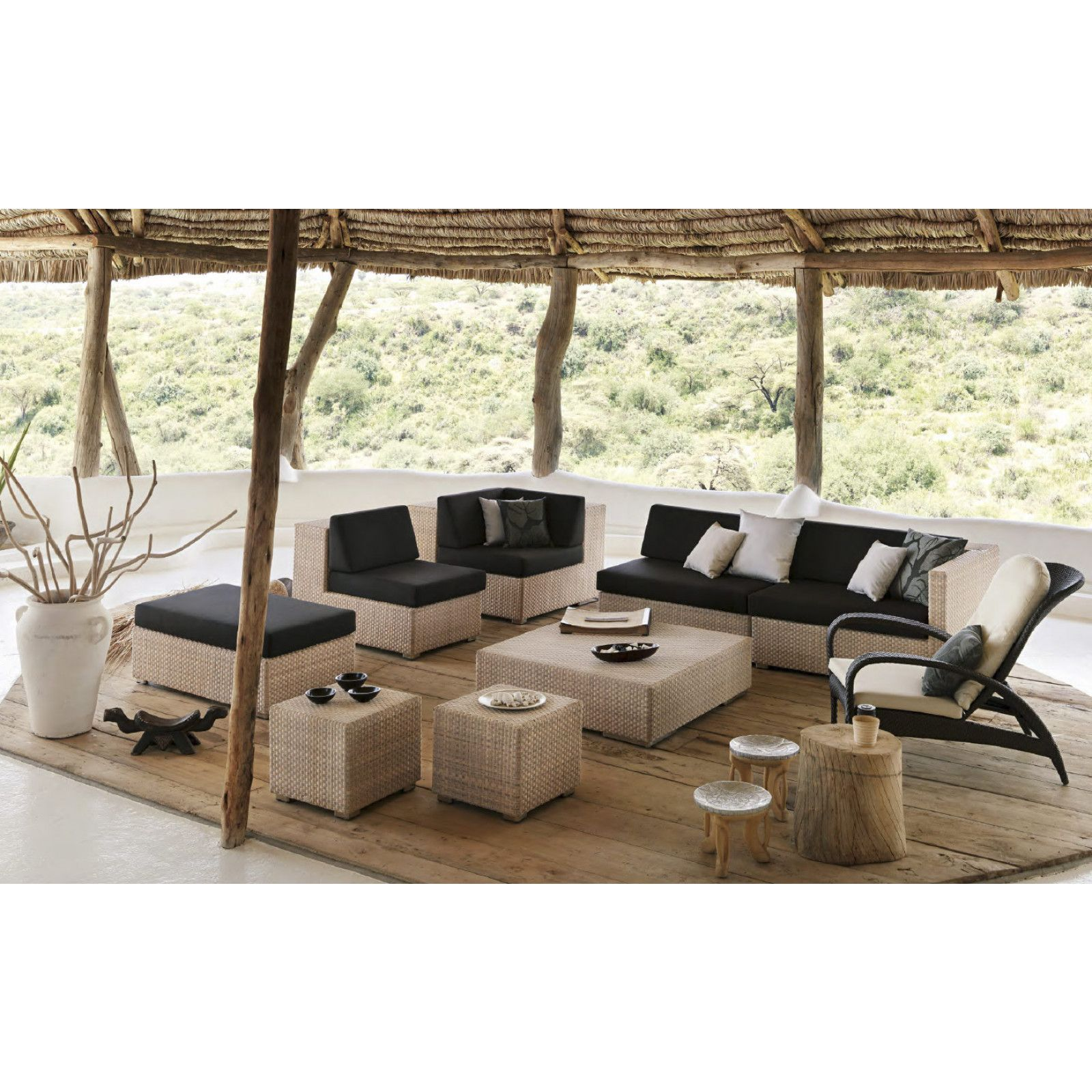 Dedon Lounge   hochwertige Outdoor Gartenmöbel von Dedon ...