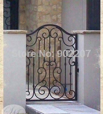 Resultado de imagen para puertas de arco de hierro forjado