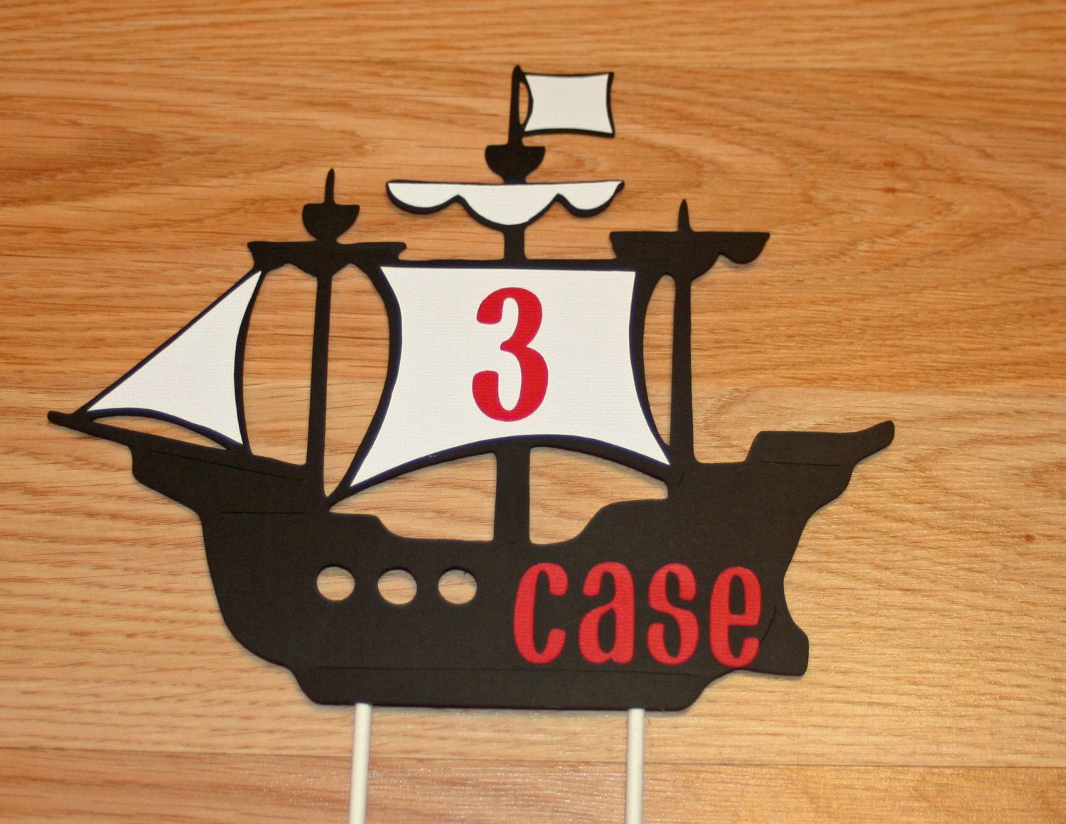 deco cake topper pirate - Buscar con Google