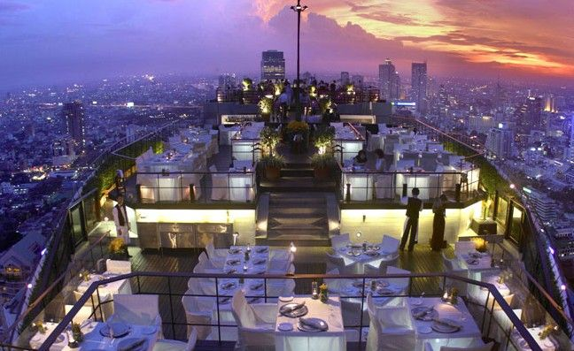 Top 10 Rooftop Bars Around The World   Moon Bar, Vegas