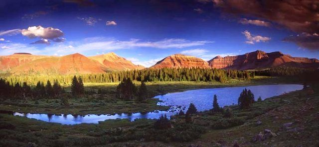 High Uintas - hiking trails, lakes, fishing Camping  the Great - check request forms