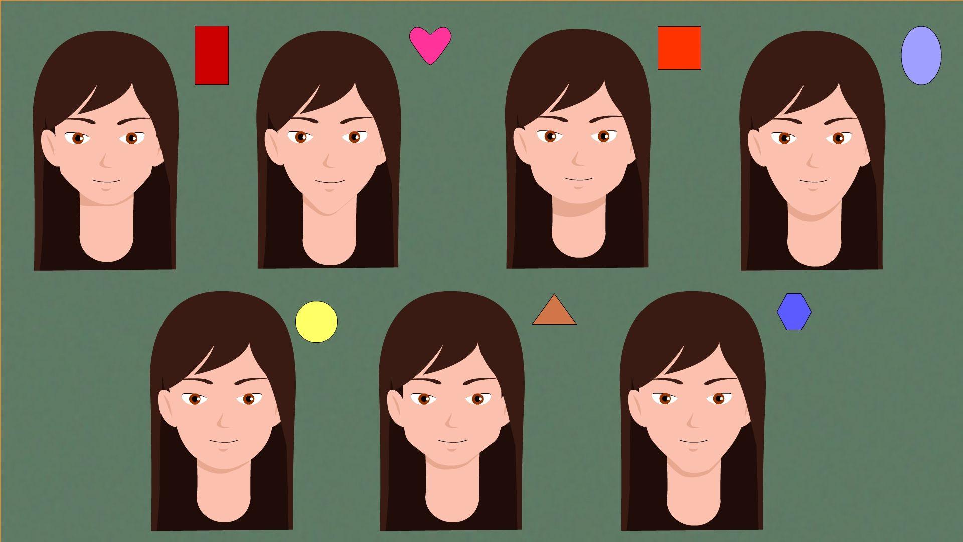 Determine Your Face Shape   Face shapes, Face, Interesting faces
