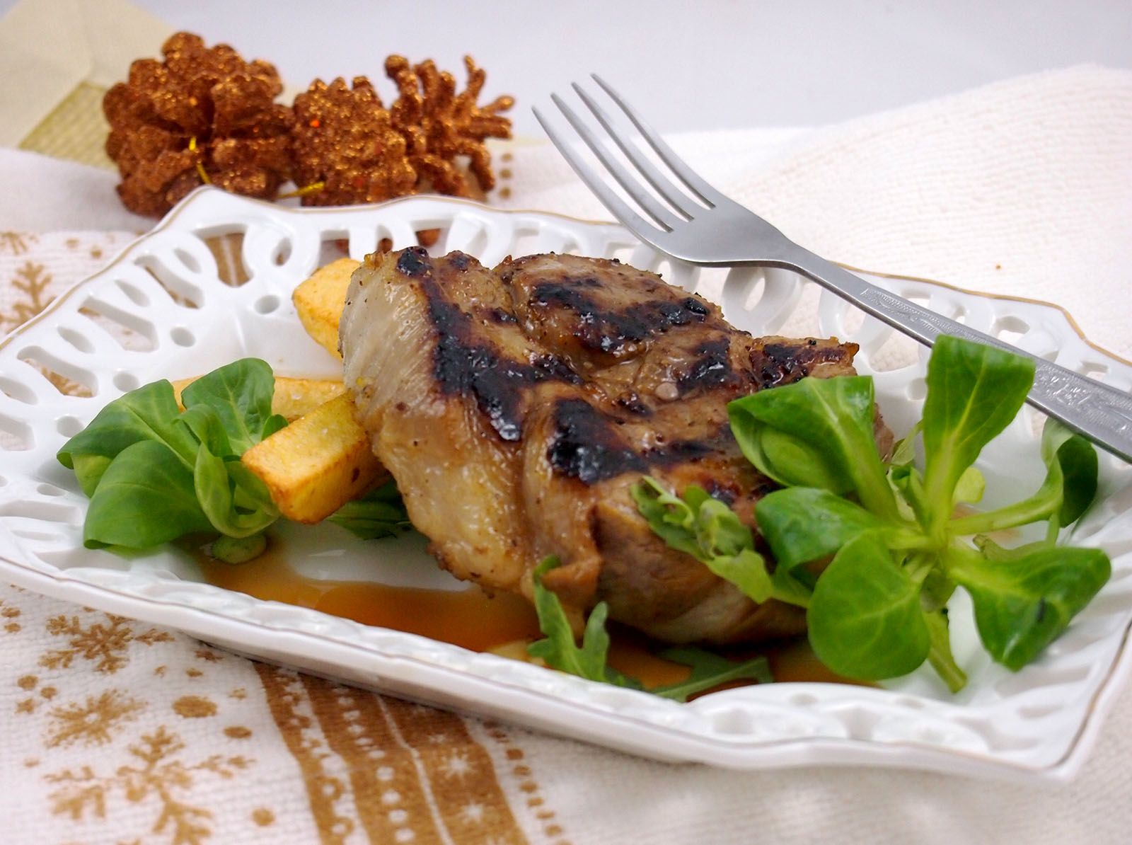 Pork neck chops recipes