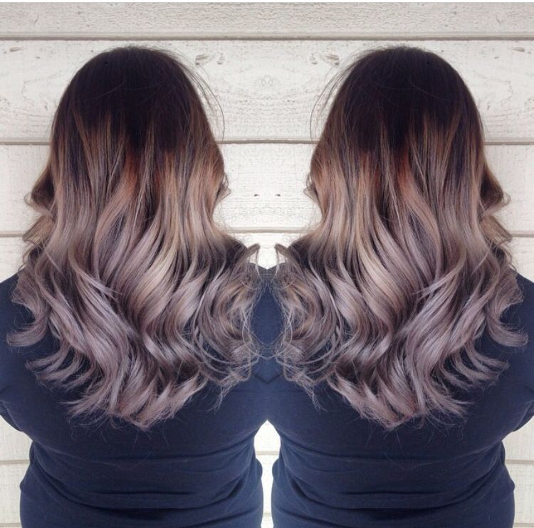 dark brown to grey ombre what to do with my hair. Black Bedroom Furniture Sets. Home Design Ideas