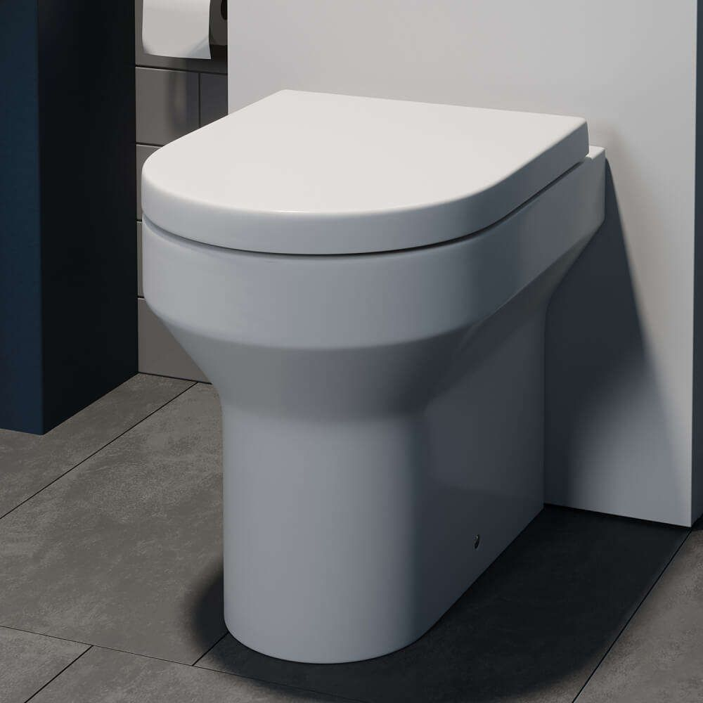 Awesome Tivoli Back To Wall Toilet Soft Close Seat Ensuite In Gamerscity Chair Design For Home Gamerscityorg
