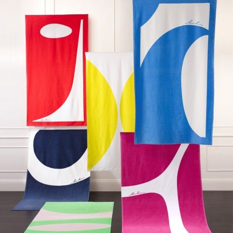 Matouk — Abstractions - Beach Towels - Bath