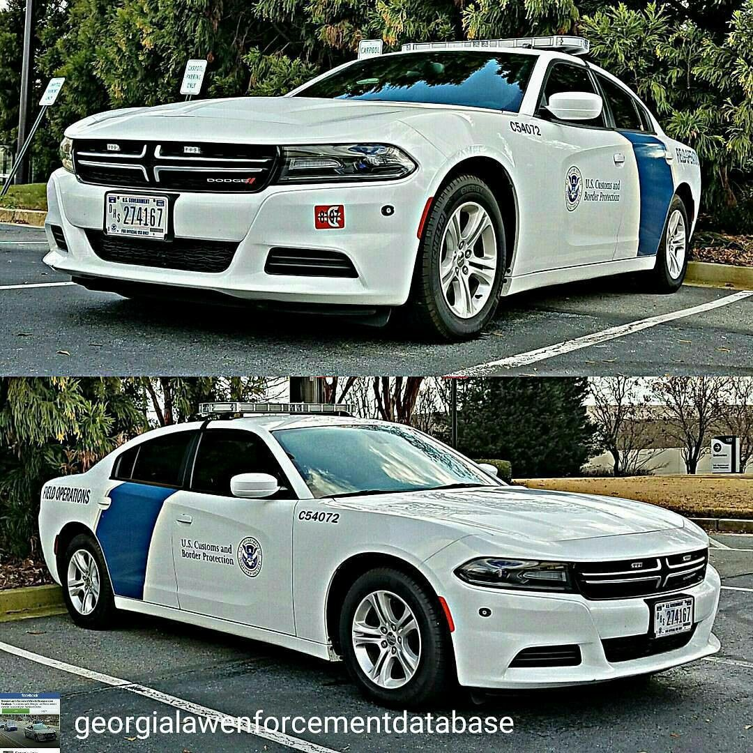 U.S Customs And Border Patrol Dodge Charger