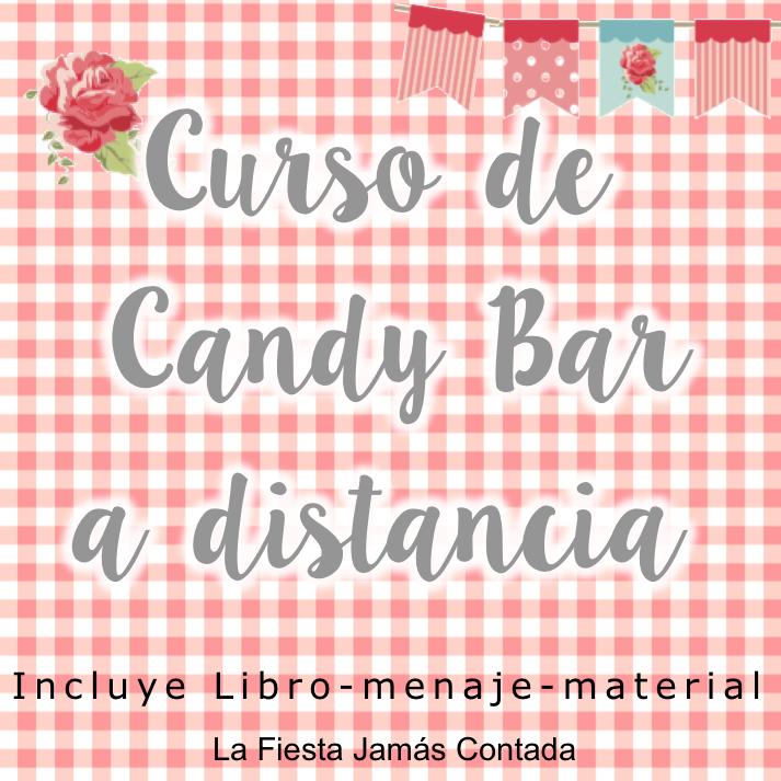 Aprende a montar mesas bonitas con el CURSO DE CANDY BAR ONLINE que te formará para formar parte de los eventos y del recuerdo de sus asistentes.