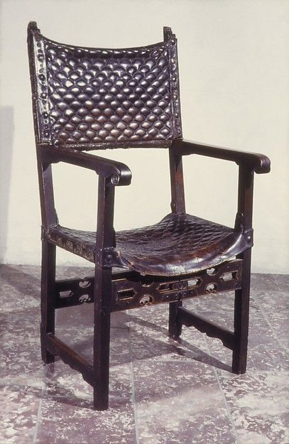 Exceptional Folding Armchair | Spanish | The Met