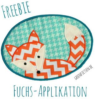 Free pattern for fox applique