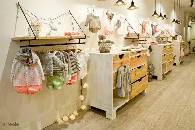 Nueva tienda NANOS. R&F Interiorismo Design   Vestidos de bebe ...