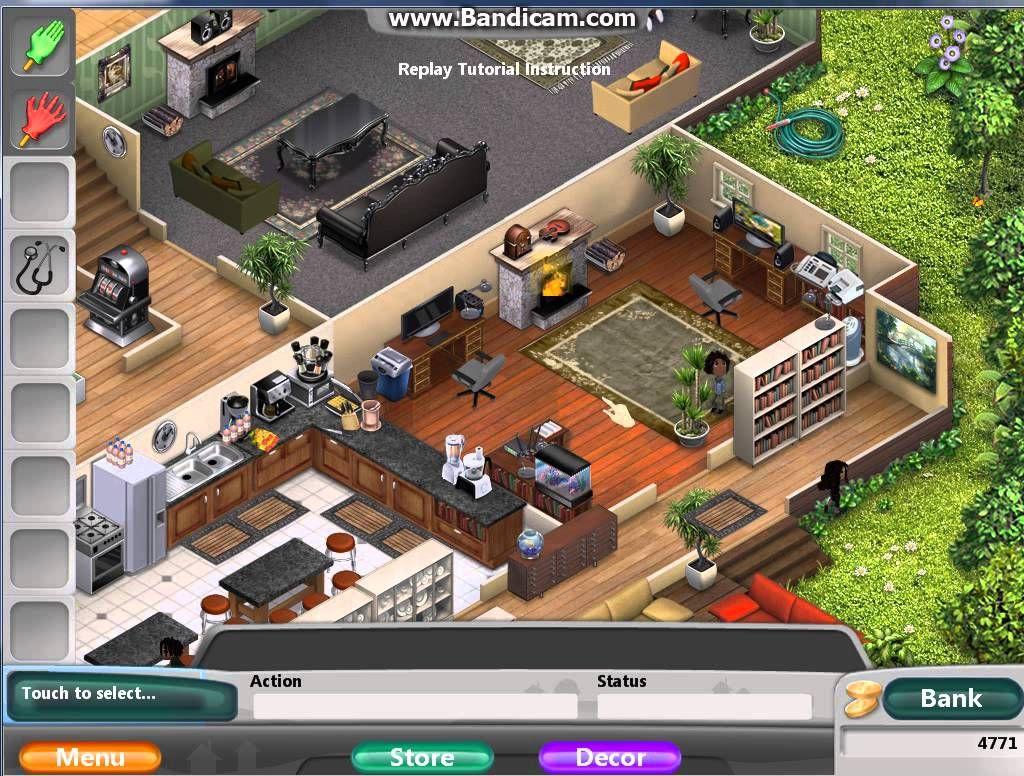 Virtual families 2 house upgrades google search vf2 for Virtual house walkthrough