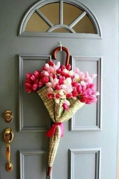 Spring Idea Swieta Pinterest Puerta De Entrada Paraguas Y